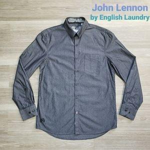 John Lennon By English Laundry Button Down
